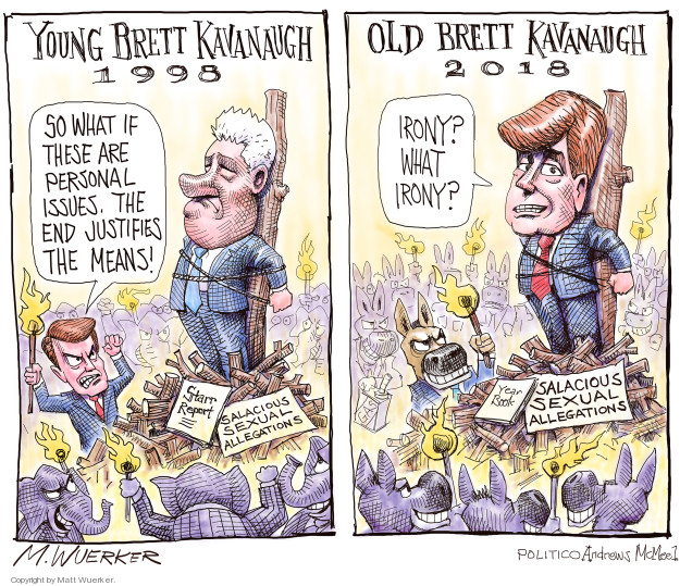 Cartoonist Matt Wuerker  Matt Wuerker's Editorial Cartoons 2018-09-27 former president