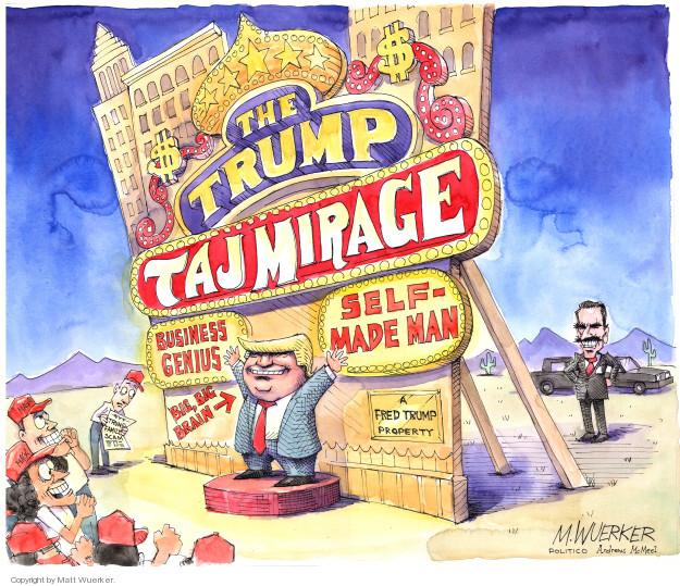 Cartoonist Matt Wuerker  Matt Wuerker's Editorial Cartoons 2018-10-04 tax