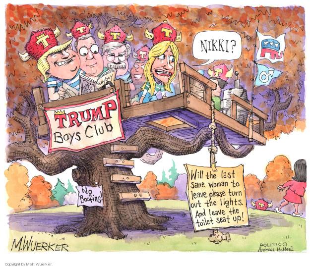 Cartoonist Matt Wuerker  Matt Wuerker's Editorial Cartoons 2018-10-11 president