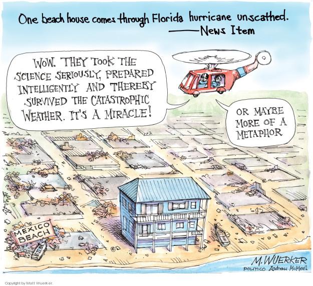 Cartoonist Matt Wuerker  Matt Wuerker's Editorial Cartoons 2018-10-17 storm