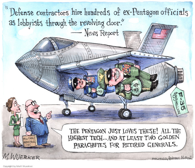 Cartoonist Matt Wuerker  Matt Wuerker's Editorial Cartoons 2018-11-14 military