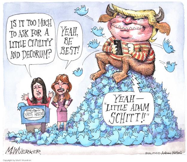 Cartoonist Matt Wuerker  Matt Wuerker's Editorial Cartoons 2018-11-19 social media