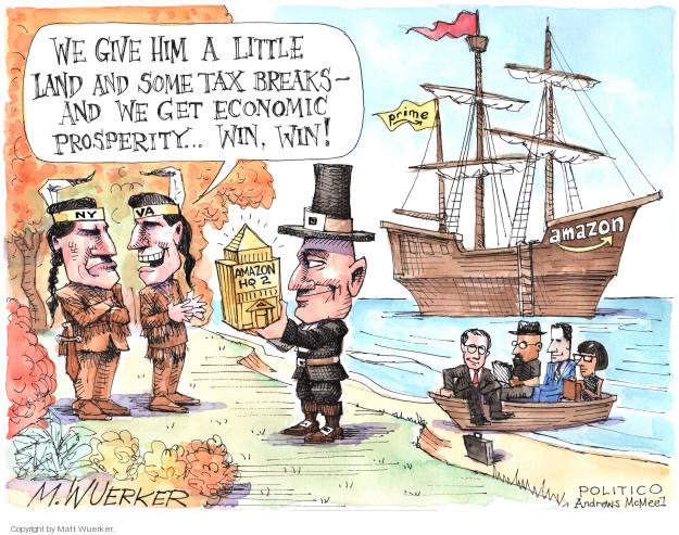 Cartoonist Matt Wuerker  Matt Wuerker's Editorial Cartoons 2018-11-22 tax