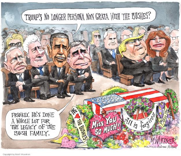Matt Wuerker  Matt Wuerker's Editorial Cartoons 2018-12-04 former president