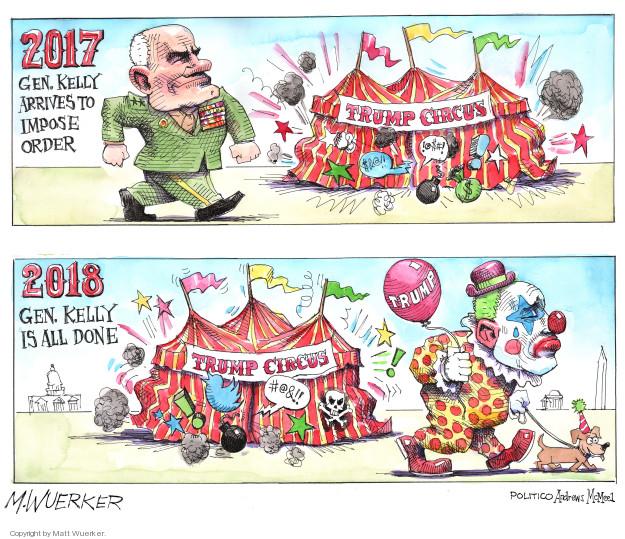 Cartoonist Matt Wuerker  Matt Wuerker's Editorial Cartoons 2018-12-11 leave