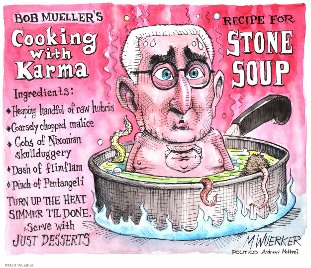 Cartoonist Matt Wuerker  Matt Wuerker's Editorial Cartoons 2019-01-31 former president