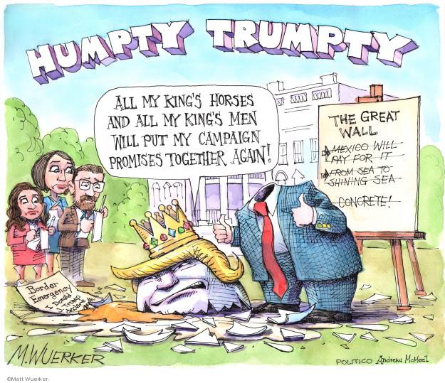Matt Wuerker  Matt Wuerker's Editorial Cartoons 2019-02-15 immigration