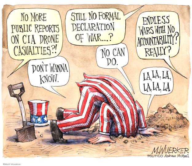 Matt Wuerker  Matt Wuerker's Editorial Cartoons 2019-03-14 war