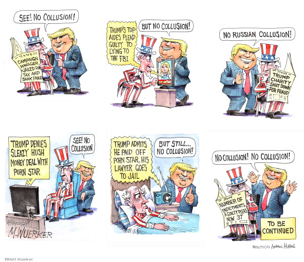 Matt Wuerker  Matt Wuerker's Editorial Cartoons 2019-03-21 2016 Election Donald Trump