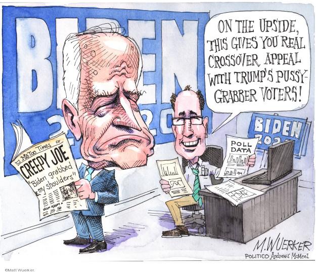 Matt Wuerker  Matt Wuerker's Editorial Cartoons 2019-04-04 Joe Biden