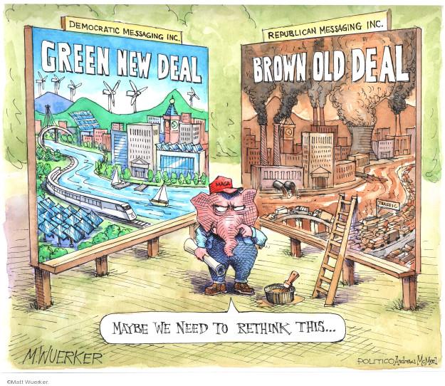 Cartoonist Matt Wuerker  Matt Wuerker's Editorial Cartoons 2019-05-07 liberalism