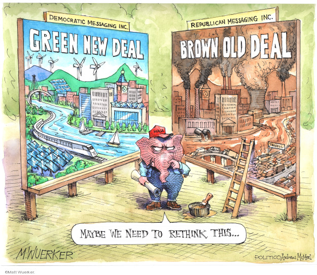 Cartoonist Matt Wuerker  Matt Wuerker's Editorial Cartoons 2019-05-07 conservatism