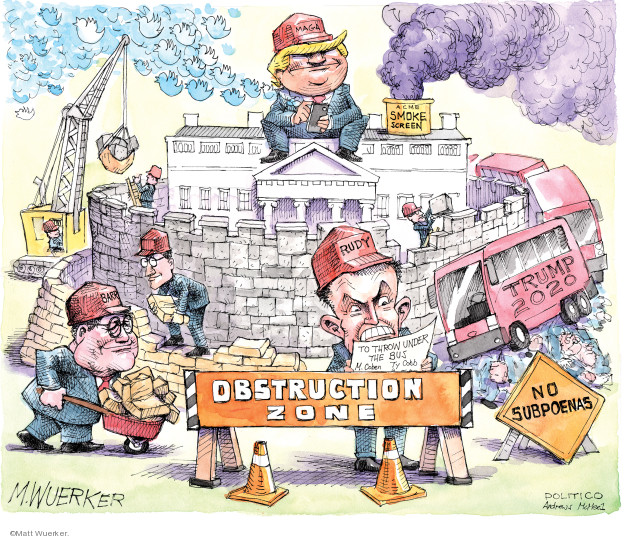 Matt Wuerker  Matt Wuerker's Editorial Cartoons 2019-05-20 house