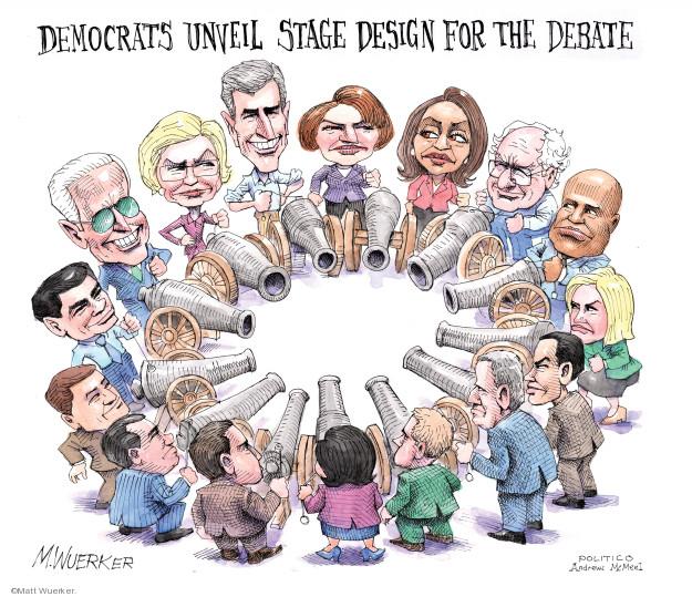 Matt Wuerker  Matt Wuerker's Editorial Cartoons 2019-06-05 2020 election