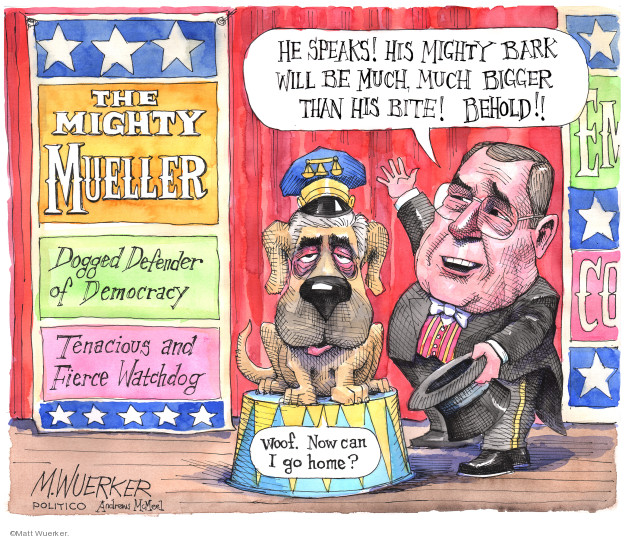Cartoonist Matt Wuerker  Matt Wuerker's Editorial Cartoons 2019-07-24 democrat