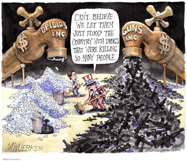 Matt Wuerker  Matt Wuerker's Editorial Cartoons 2019-08-06 editorial