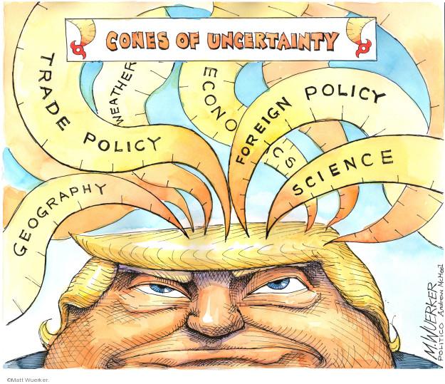 Cartoonist Matt Wuerker  Matt Wuerker's Editorial Cartoons 2019-09-05 storm