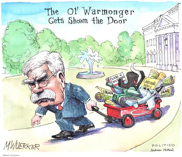 Cartoonist Matt Wuerker  Matt Wuerker's Editorial Cartoons 2019-09-10 door