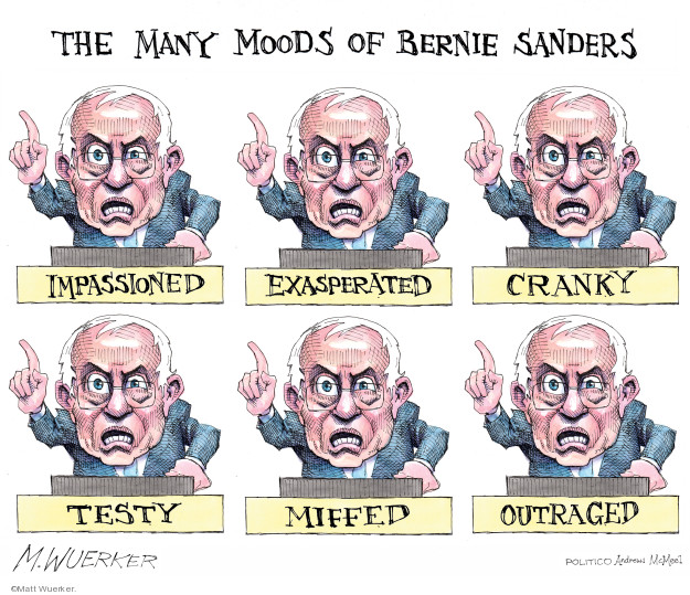 Cartoonist Matt Wuerker  Matt Wuerker's Editorial Cartoons 2019-09-13 democrat