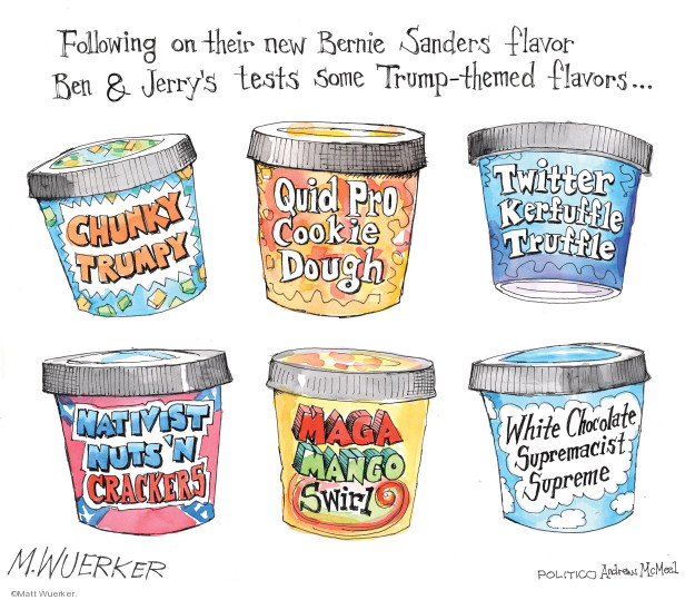 Cartoonist Matt Wuerker  Matt Wuerker's Editorial Cartoons 2019-09-30 cookie