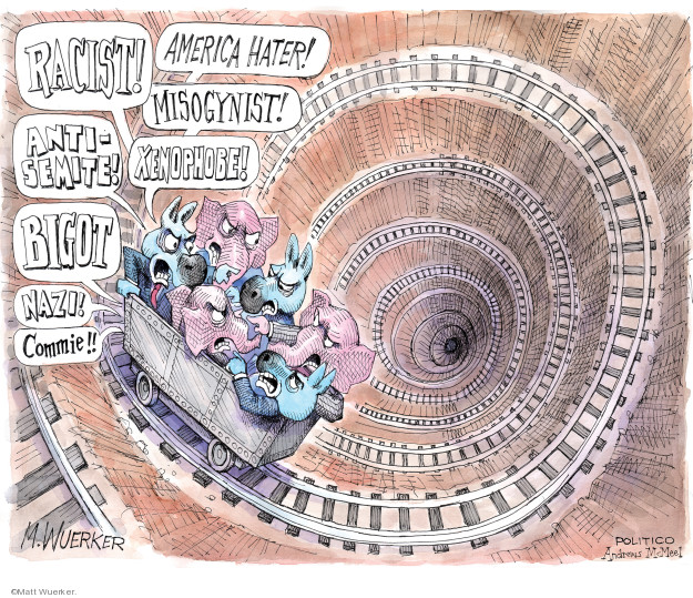 Cartoonist Matt Wuerker  Matt Wuerker's Editorial Cartoons 2019-10-02 GOP