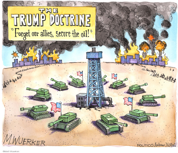 Cartoonist Matt Wuerker  Matt Wuerker's Editorial Cartoons 2019-10-28 supply