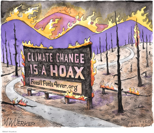 Climate change is a hoax. FossilFuels4ever.org