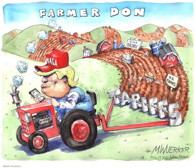 Cartoonist Matt Wuerker  Matt Wuerker's Editorial Cartoons 2019-12-04 United States