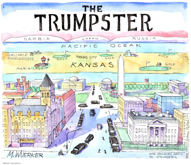 Cartoonist Matt Wuerker  Matt Wuerker's Editorial Cartoons 2020-02-03 editorial