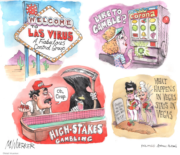 Cartoonist Matt Wuerker  Matt Wuerker's Editorial Cartoons 2020-04-28 social