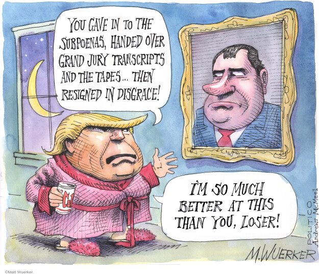 Matt Wuerker  Matt Wuerker's Editorial Cartoons 2020-05-11 Donald