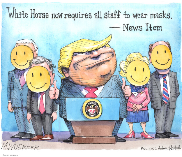 Cartoonist Matt Wuerker  Matt Wuerker's Editorial Cartoons 2020-05-12 virus