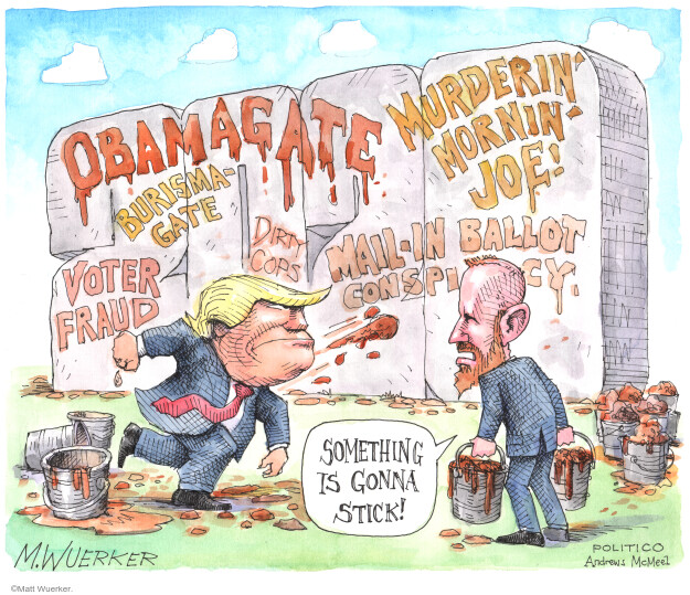 Matt Wuerker  Matt Wuerker's Editorial Cartoons 2020-05-27 presidential election