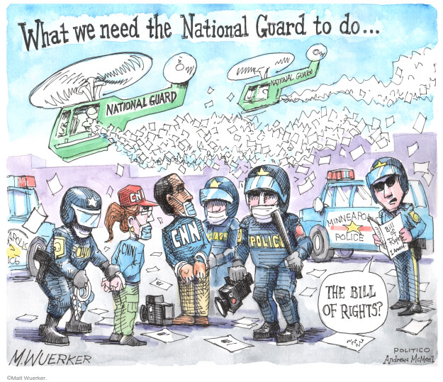 Matt Wuerker  Matt Wuerker's Editorial Cartoons 2020-05-29 news