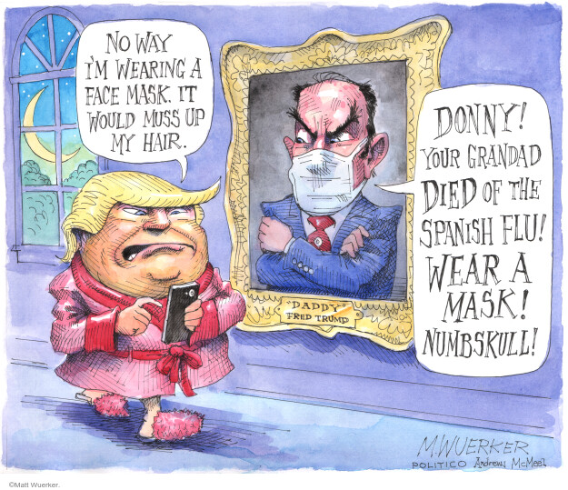 Matt Wuerker  Matt Wuerker's Editorial Cartoons 2020-06-27 Donald