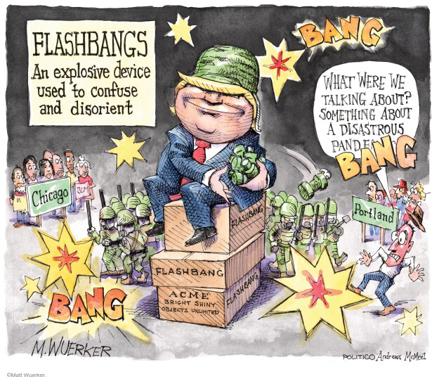 Matt Wuerker  Matt Wuerker's Editorial Cartoons 2020-07-22 amendment