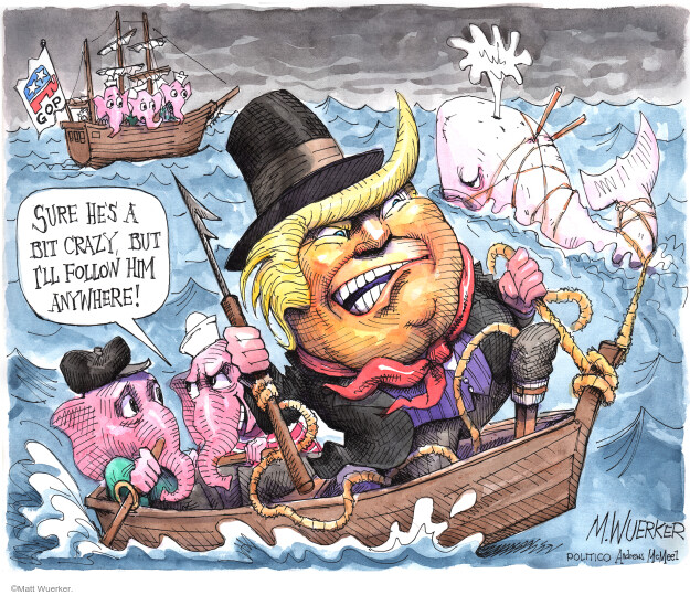 Matt Wuerker  Matt Wuerker's Editorial Cartoons 2020-10-26 Donald Trump
