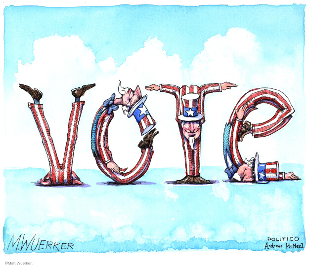 Matt Wuerker  Matt Wuerker's Editorial Cartoons 2020-10-30 voting rights
