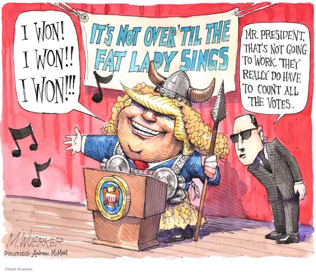 Matt Wuerker  Matt Wuerker's Editorial Cartoons 2020-11-04 candidate