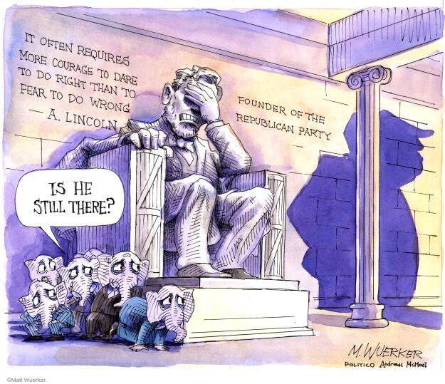Matt Wuerker  Matt Wuerker's Editorial Cartoons 2020-11-10 Donald Trump