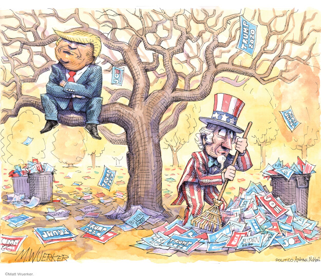 Matt Wuerker  Matt Wuerker's Editorial Cartoons 2020-11-13 candidate