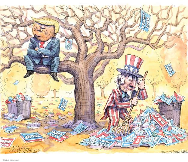 Matt Wuerker  Matt Wuerker's Editorial Cartoons 2020-11-13 Donald Trump