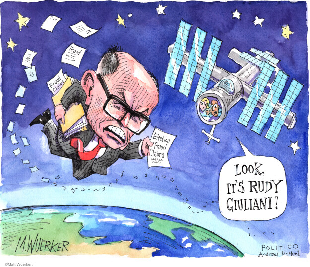 Matt Wuerker  Matt Wuerker's Editorial Cartoons 2020-12-01 Donald Trump