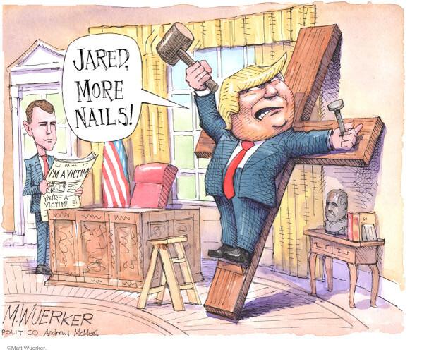 Matt Wuerker  Matt Wuerker's Editorial Cartoons 2020-12-16 Donald Trump