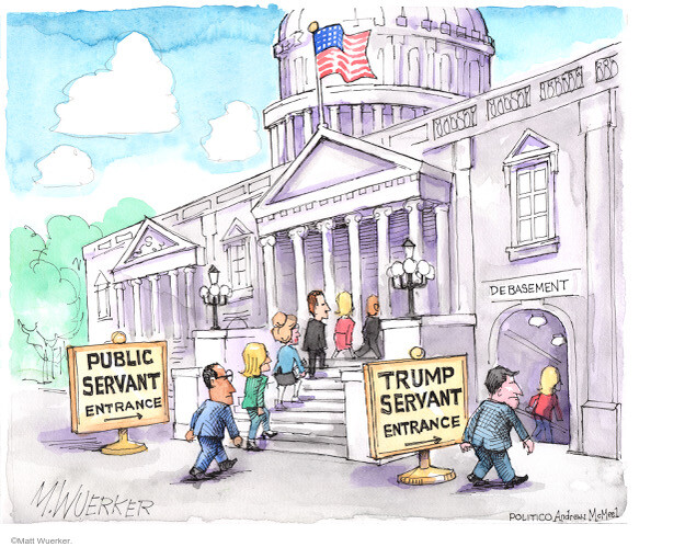 Matt Wuerker  Matt Wuerker's Editorial Cartoons 2021-01-08 Donald Trump