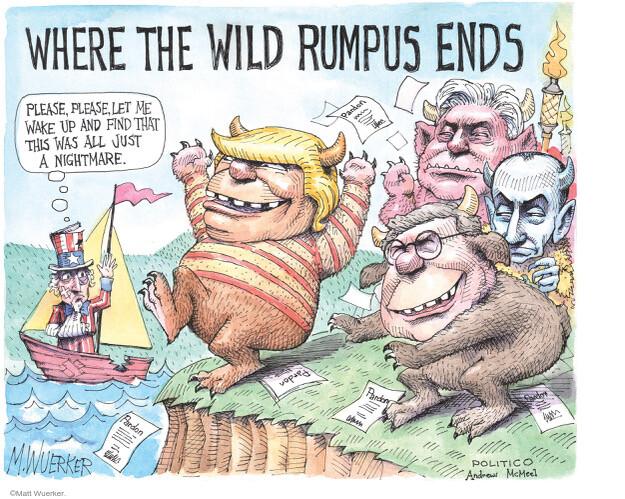 Matt Wuerker  Matt Wuerker's Editorial Cartoons 2021-01-19 Donald Trump