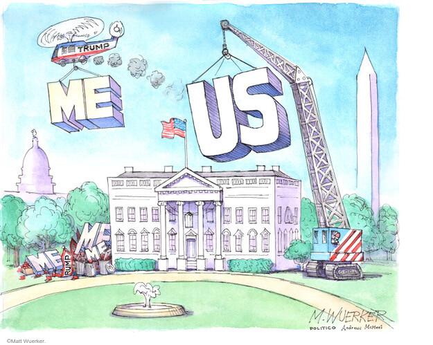 Matt Wuerker  Matt Wuerker's Editorial Cartoons 2021-01-20 Donald Trump