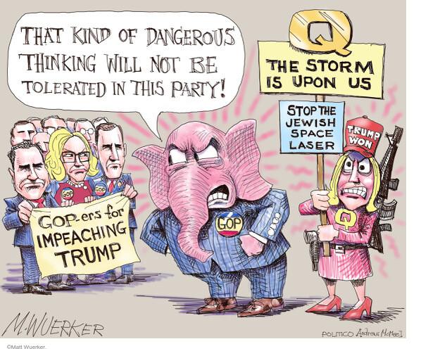 Matt Wuerker  Matt Wuerker's Editorial Cartoons 2021-02-01 republican party
