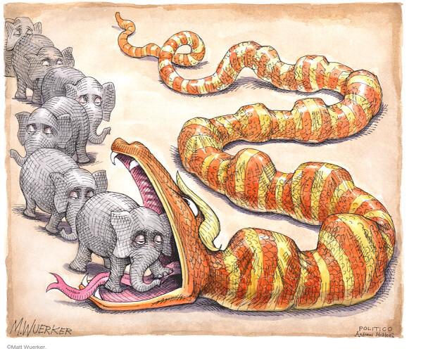 Matt Wuerker  Matt Wuerker's Editorial Cartoons 2021-02-08 conservatism
