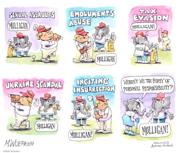 Matt Wuerker  Matt Wuerker's Editorial Cartoons 2021-02-11 republican party